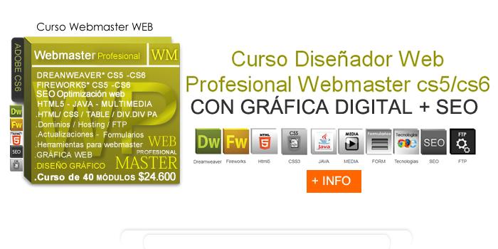 Cursos web design