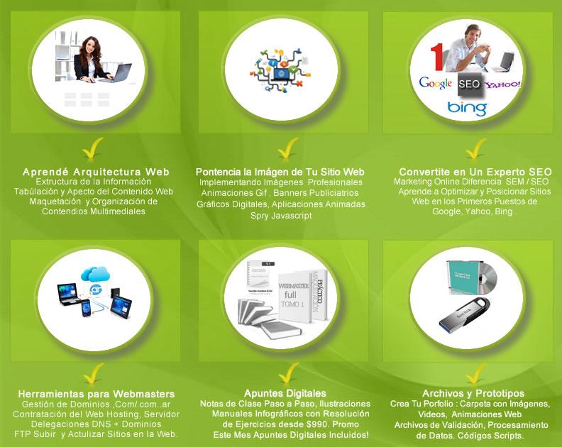 Diseño Web, Buenos Aires - CDW: Cursos Design Web: Curso de Diseño ...