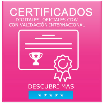 cursos design web - certificados digitales , web design